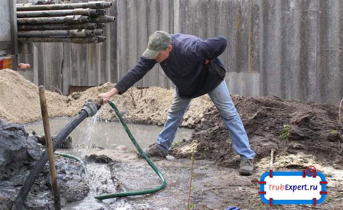 Очистка скважины от глины своими руками 84